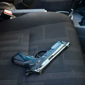 Two Loaded Handguns Seized During Motor Vehicle Stop In Secaucus